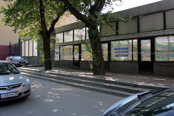 Большой Сампсниевский проспект, 60 б, заброшенный торговый павильон