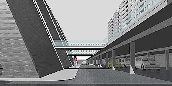 Торгово-бытовой комплекс Искра на Искровском проспекте, проект