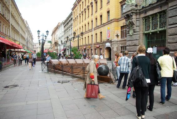 Улица Малая Садовая
