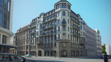 Проект жилого дома на Стремянной улице, 15