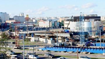 Эстакада соединяющая Приморское шоссе и Приморский проспект