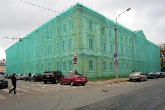 Общежитие Аграрного университета на Средней улице, 6