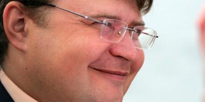 Андрей Левакин, улыбка