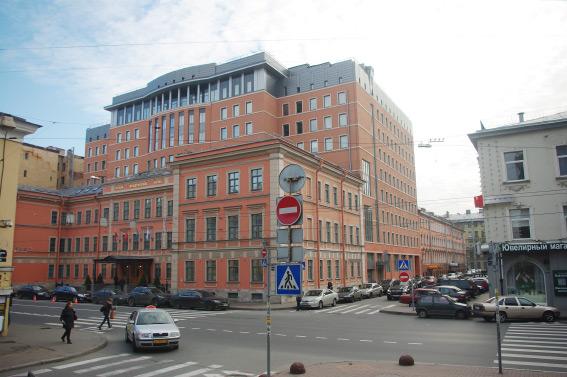 Новодел Введенской гимназии на Большом проспекте Петроградской стороны, 37