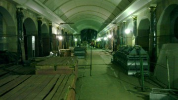 Интерьер станции метро «Адмиралтейская»