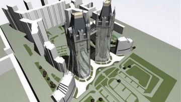 «Лондон-парк», один из первоначальных проектов с небоскребами