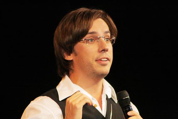 Максим Галкин, пародист, юморист, телеведущий, киноактёр и певец