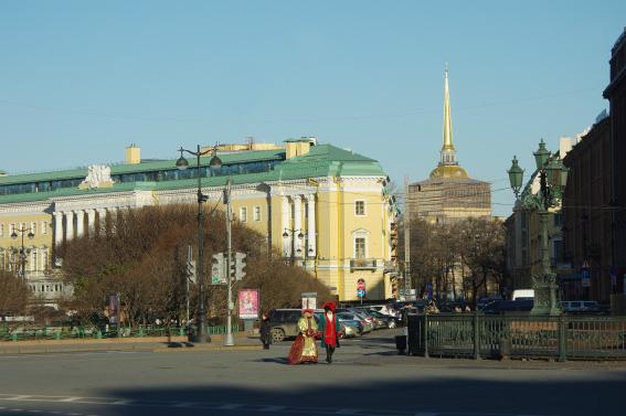 """""""Дом со львами"""", Адмиралтейский проспект, 12"""