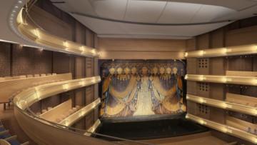 Вторая сцена Мариинского театра, проект зрительного зала