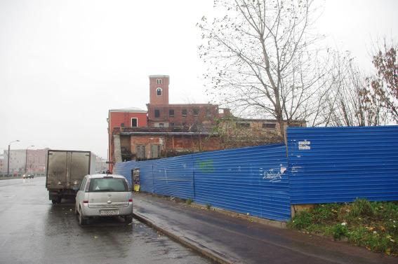 Место снесенного аварийного дореволюционного здания, набережная Обводного канала, 62, корпус 2