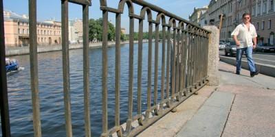 Решетка набережной реки Фонтанки