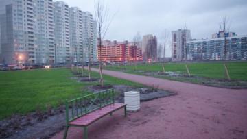 «парк Воинской Славы», улица Джона Рида, улица Бадаева