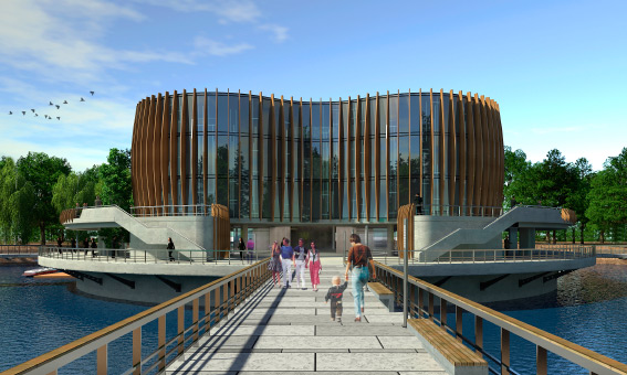 Зоопарк в Юнтолово, проект