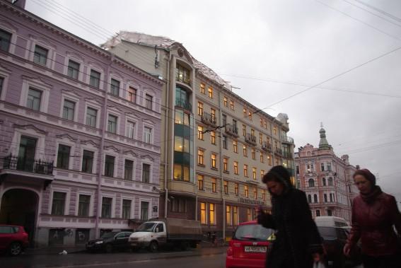 Петербурггаз, административное здание на Гороховой улице, 63