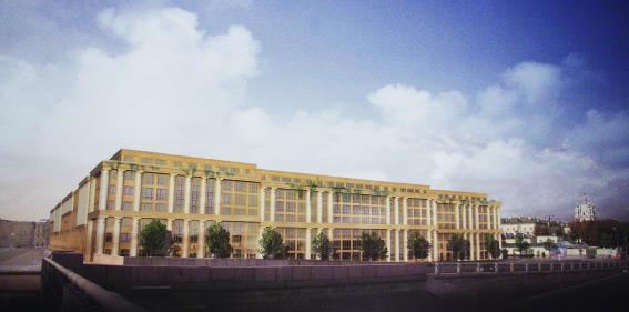 Проект жилого комплекса, который появится на Смольном проспекте, 17, у Большеохтинского моста