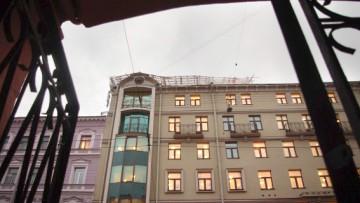 Ремонт крыши административного здания на Гороховой улице, 63