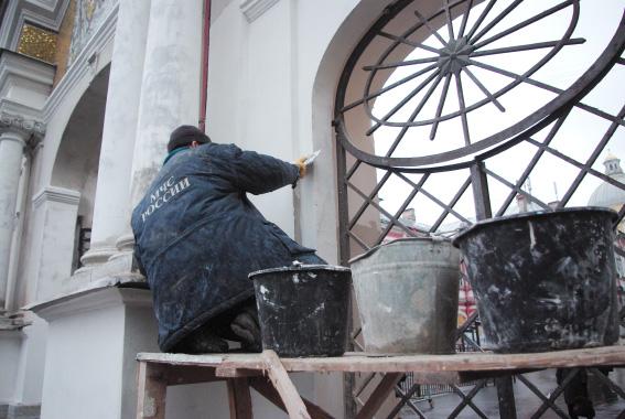Реставрация, Александро-Невская лавра