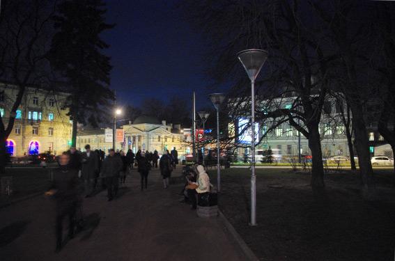 """Сквер у станции метро """"Площадь Ленина-2"""""""