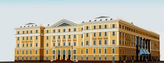 Многофункциональный, торгово-офисный комплекс Преображенский на Литейном проспекте, 26, проект