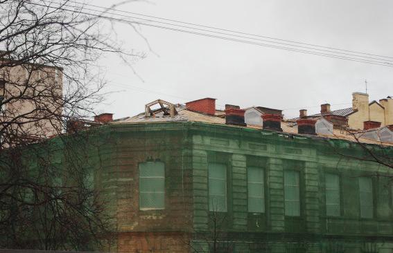 Историческое здание на улице Маяковского, 12, литера П