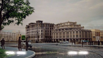 Жилой комплекс на набережной Карповки, 31, Северная корона, проект