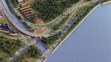 Развязка набережной Обводного канала и проспекта Обуховской Обороны, проект