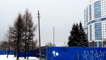 Снесли кинотеатр Планета в Петербурге на улице Типанова
