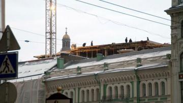 Дворовые корпуса вылезли над зданием Боллоева на Мойке