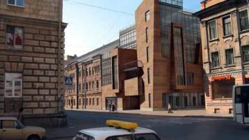 Проект реконструкции Пушкарских бань под бизнес-центр Сенатор