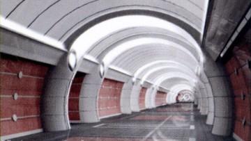 Станция «Боровая» Красносельско-Калининской линии петербургского метро. Проект