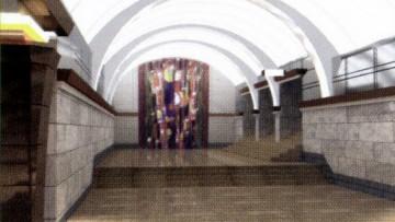 Станция «Броневая» Красносельско-Калининской линии петербургского метро. Проект