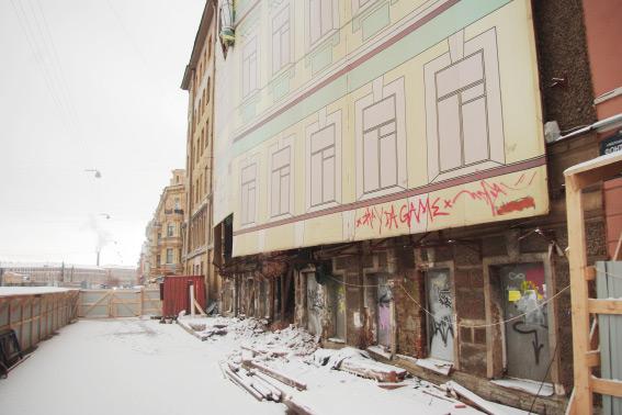 Дом на Фонтанке, 145, возможно, рушат по заказу миллионера Молчанова