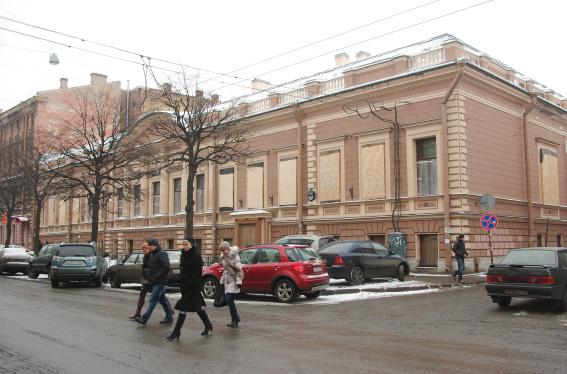 Особняк Трубецкого, ул. Чайковского