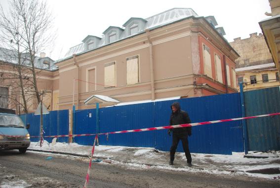 Особняк Трубецкого на улице Чайковского