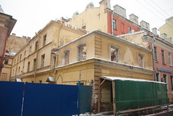 Особняк Трубецкого на Чайковского масштабно реконструируют