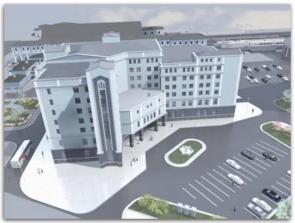 Северо-западный центр корпоративного образования РЖД. Проект.