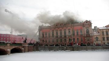 пожар во дворце Белосельских-Белозерских