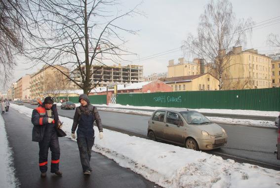 Место под строительство жилого комплекса, Тележная, 32