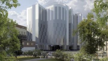 Бизнес-центр Москва на площади Александра Невского, проект