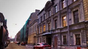 Надстроенный дом Занадворовой на Галерной улице, 59