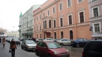 Особняк Паниных, Фонтанка, 7, Караванная улица