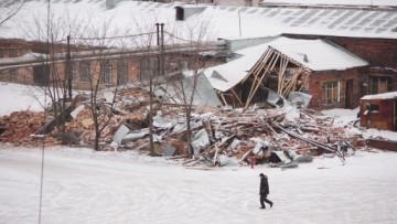 Снос завода «Петмол» у метро «Фрунзенская»