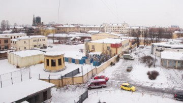 Снос завода «Петмол» на Московском проспекте
