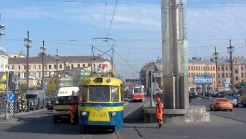 Трамвай на Садовой улице, Сенная площадь