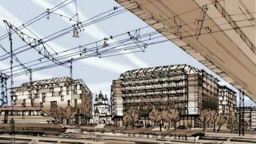 Проект застройки квартала Московская-Товарная у Московского вокзала
