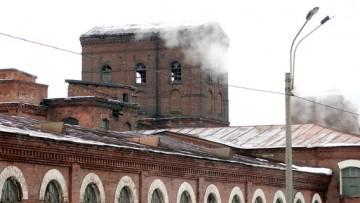 Комплекс построек Бумажной фабрики Варгуниных, водонапорная башня, Октябрьская набережная, 54