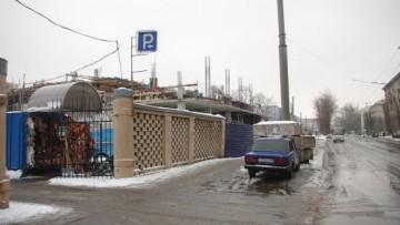 Строительство бизнес-центра на улице Решетникова, 12