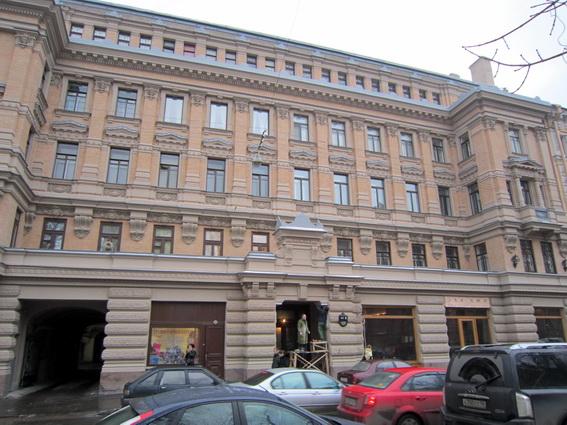 Дом Елисеева на Ломоносовской улице