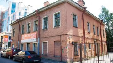 Историческое здание на Ждановской улице, 10