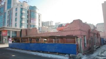 Снос исторического здания на Ждановской улице, 10